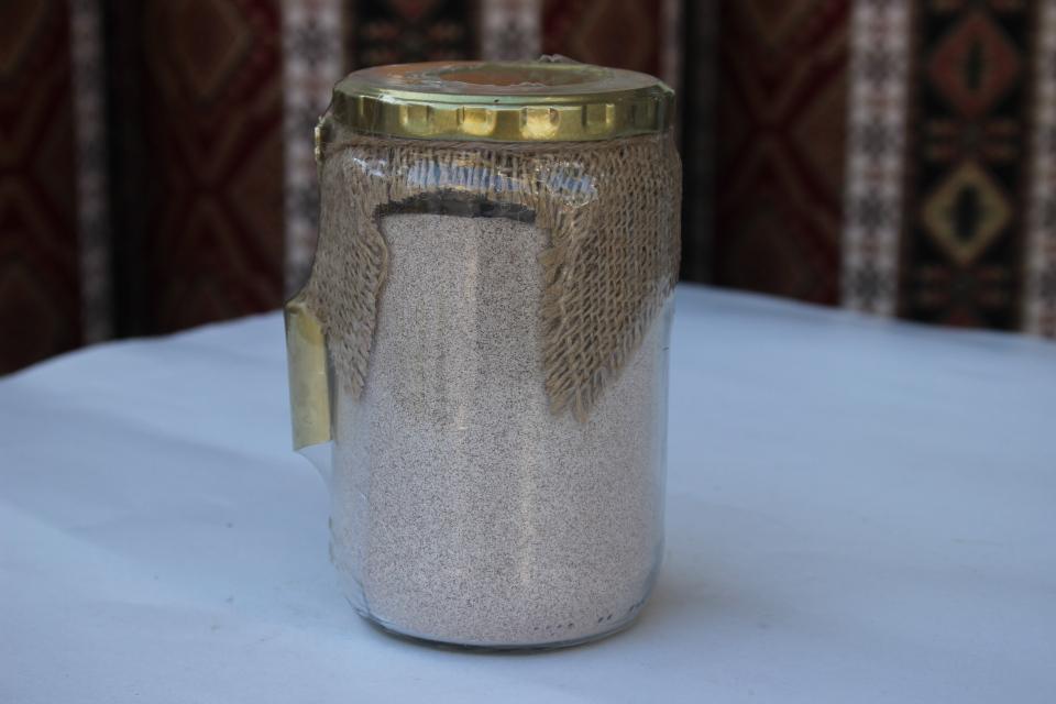 Fıstıklı Kahve Cam (250 GR)