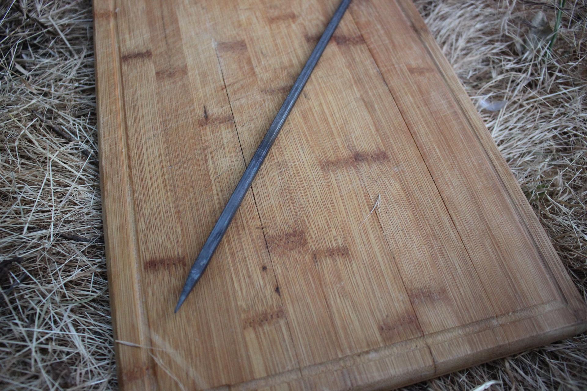 Kuşbaşı-Patlıcan Kebabı Şişi 60 cm 7 mm (6 Adet )