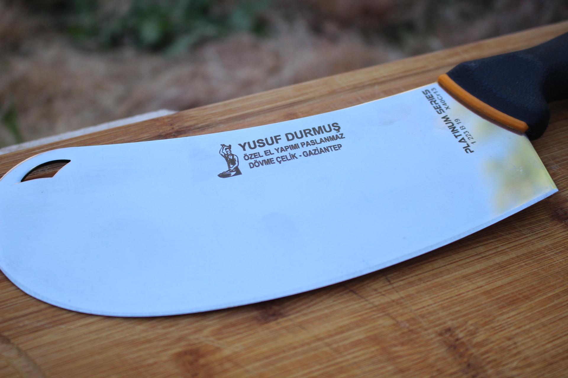 Özel El Yapımı Paslanmaz Dövme Çelik Soğan Bıçağı