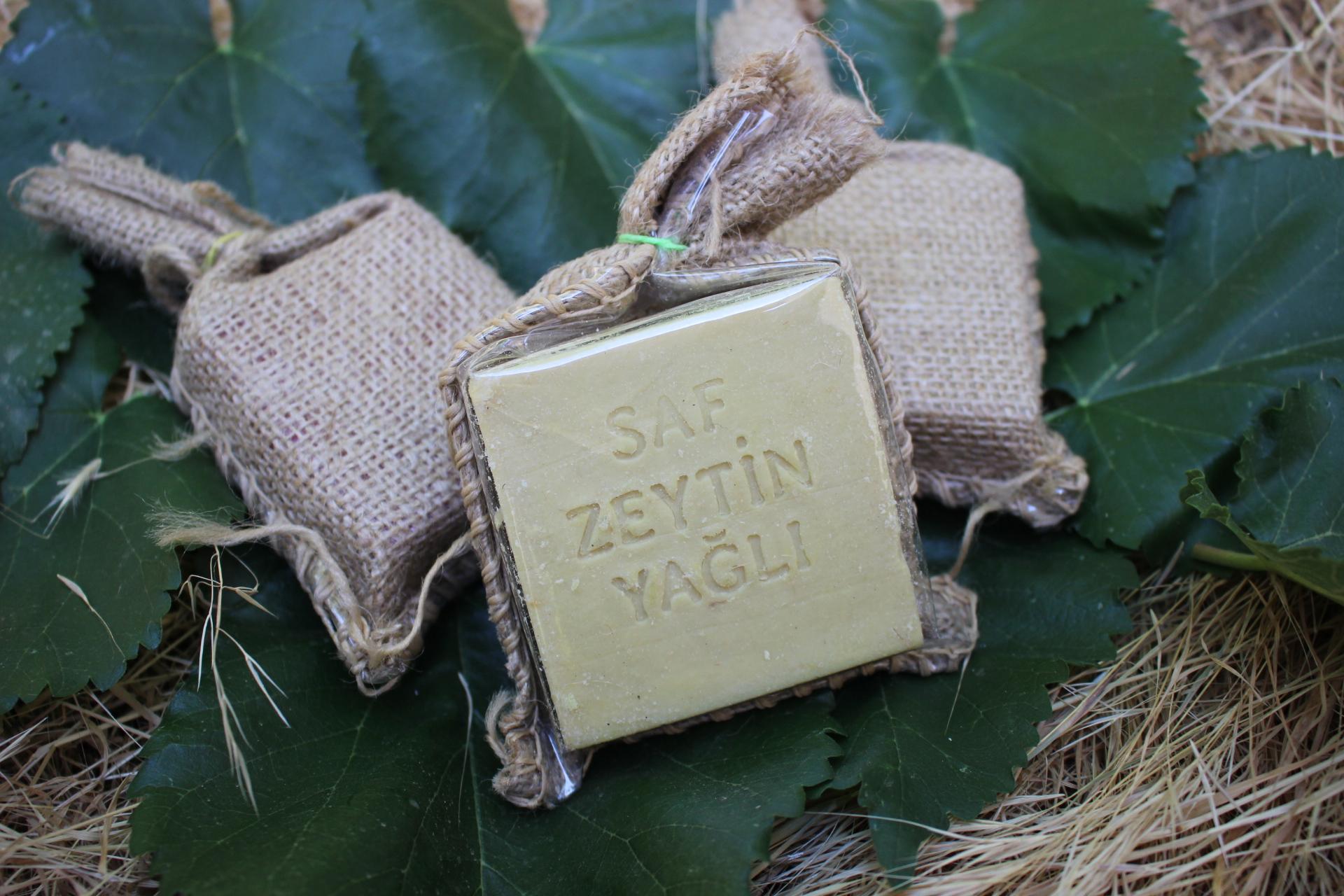 Saf Zeytinyağlı Sabun