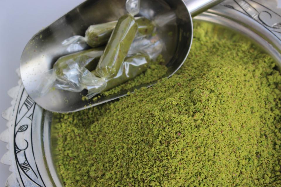 Boz İç Toz Antep Fıstık (250 Gr)